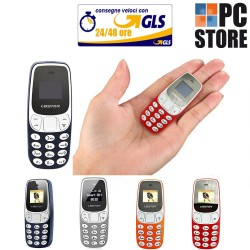 MINI TELEFONO L8STAR BM 10 DUAL SIM CELLULARE TASCABILE BLUETOOTH GSM MP3